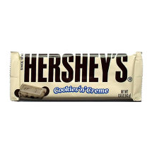 Шоколад Hershey's Cookies Creme Bar