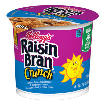Хлопья Kelloggs Raisin Bran Crunch